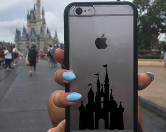 Cinderella Castle Decal, Disney Castle Sticker, Disney Castle Decal, Phone Cover, Disney Stickers, Disney Vinyl Decals, Castle, Cinderella
