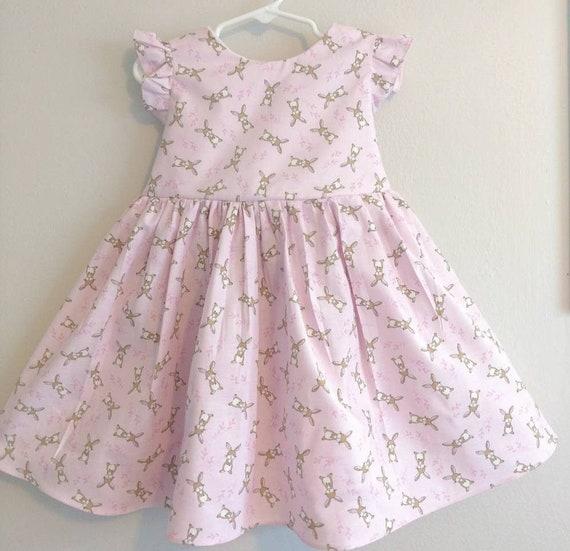 f4b2e33c0 Easter Dressbunny dress Easter dress for girls Easter dress