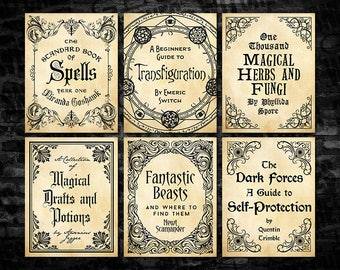 photo regarding Harry Potter Potion Book Printable referred to as Printable Potion Element Labels Magic Potion Factor