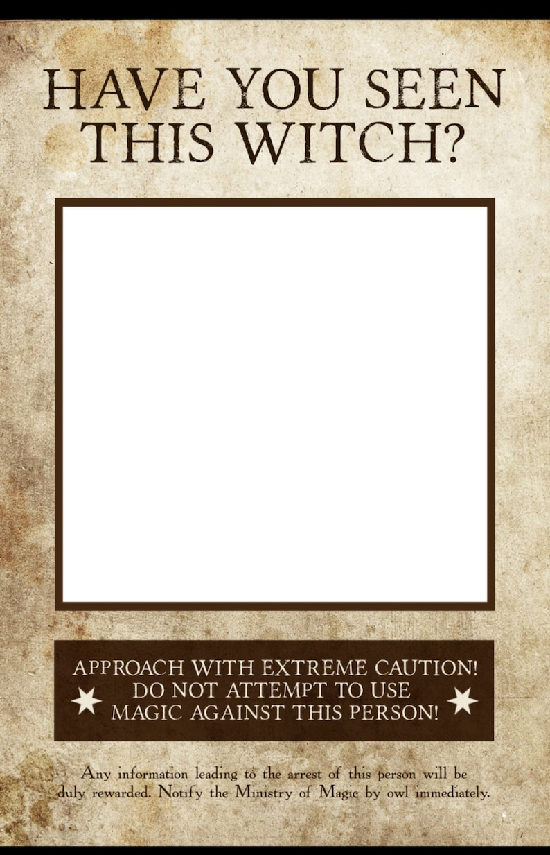 graphic about Have You Seen This Wizard Printable known as Include Your self Discovered This Witch? Image Booth Prop Ideal Poster, Printable Desired Witch Poster, Wedding ceremony Image Booth Prop, Quick Obtain