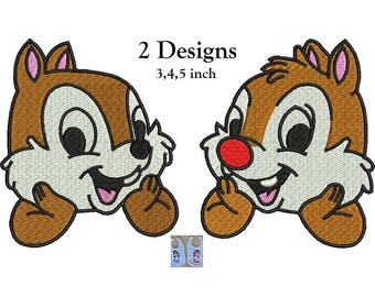 chip and dale etsy