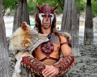 Berserk FULL Armor Kit | Viking Costume | Leather Armor | Body Armour | Custom Armor | Armor set | Leather vambraces