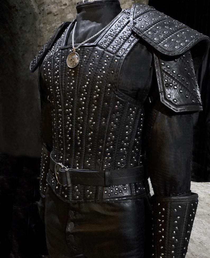 Witcher Cosplay Costume Netflix version Geralt of Rivia   Etsy