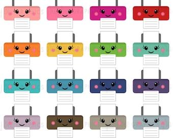 SALE! Printer-Kawaii Printer- Clipart Set, Commercial Use, Instant Download, Digital Clipart, Digital Images- MP207
