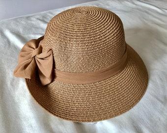 4fe9ed614b8 Vintage Summer Straw Hat