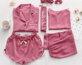 Women Satin Pajama Sets (2 sets) d45b2c6a0