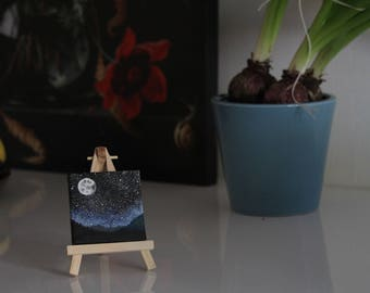 Tiny galaxy painting