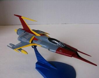 Star Blazers Space Battleship Yamato Cosmo Zero Built Plastic Scale Model Display Anime