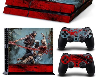 Hearty Ps4 Slim Sticker Console Decal Playstation 4 Controller Vinyl Skin Wood 2 Video Game Accessories