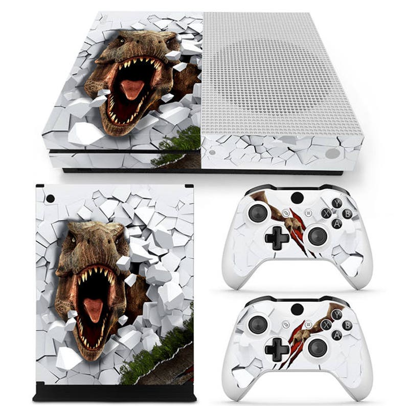 Video Games & Consoles Supply Punisher Xbox One S Sticker Console Decal Xbox One Controller Vinyl Skin Quality First