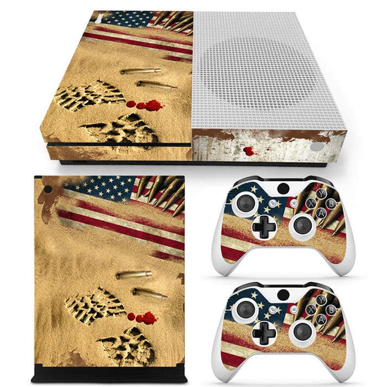 Video Game Accessories Video Games & Consoles Supply Punisher Xbox One S Sticker Console Decal Xbox One Controller Vinyl Skin Quality First