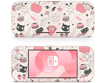 Nintendo Switch Lite Skin Decal For Game Console Magical Pinky