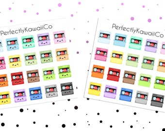 KCD21 Kawaii Dishwasher Stickers | Dishwasher stickers | Chore Stickers | Planner Stickers | Kikki k Stickers | Diary Stickers | Filofax