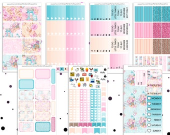 Sewing Is Life- Weekly Kit For Erin Condren Vertical Planner
