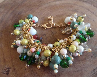 Really nice beaded mix bracelet!