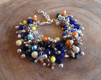 Summer bracelet, beaded mix!!!