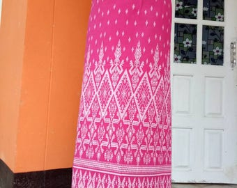 Cotton Hand Woven pink