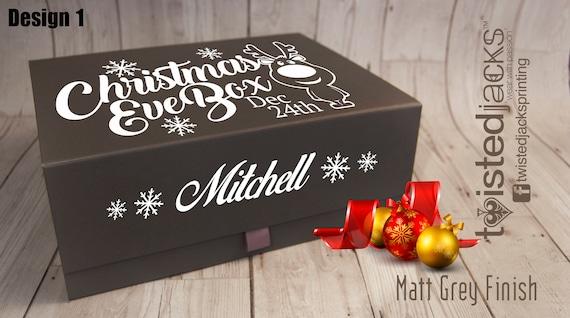 Kids Personalised Christmas Eve Box Christmas Gift Ideas Etsy