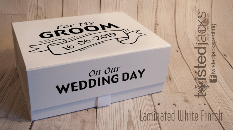 Grooms Box Wedding Gift Ideas Bridal Party Boxes Groom Etsy