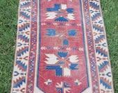 2,4x4,2 4 rug vintage rug turkish rug decor rug stly rug vintage oushak rug