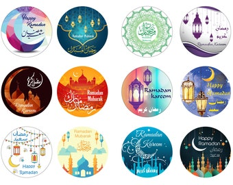40 Ramadan Mubarak Stickers Decoration Gift Ramadan Kareem