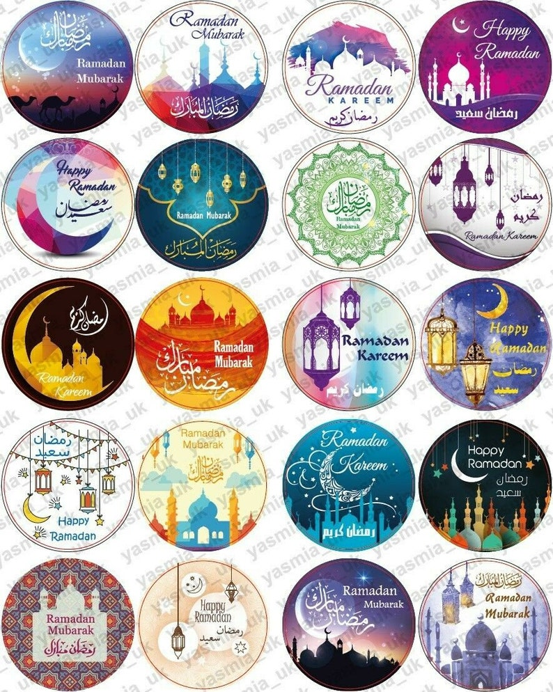 Ramadan Mubarak Stickers