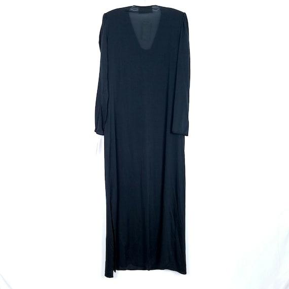 Oscar De La Renta Vintage evening gown dress blac… - image 2