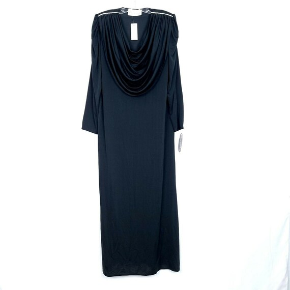 Oscar De La Renta Vintage evening gown dress blac… - image 1