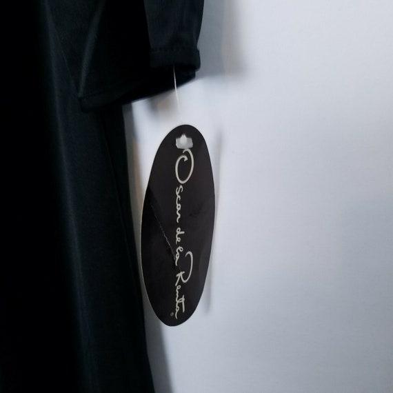 Oscar De La Renta Vintage evening gown dress blac… - image 8