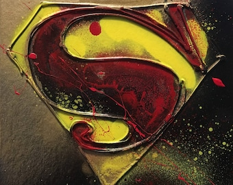 Superman Abstract Artwork