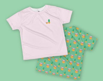 Cactus Succulent Toddler T-shirt - Double Printed