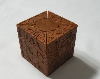 in stock 3d printed hellraiser cube lemarchand s puzzle etsy