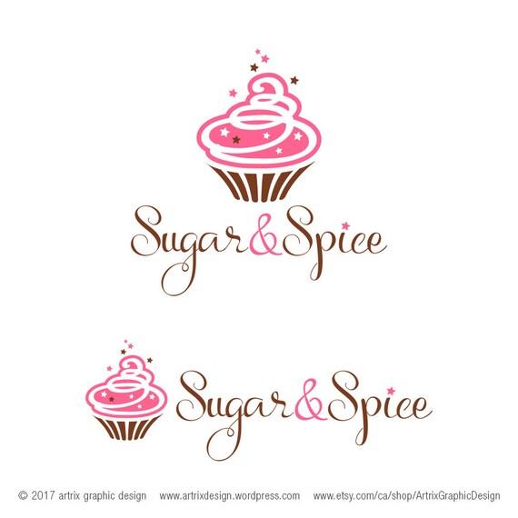 Logo de la panadería / / Magdalena Logo / / Logo de la tienda | Etsy