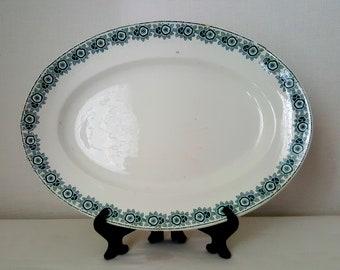 Vintage French Platter of La Francaise EGT/IBERIA/Serving Platter