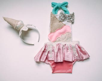 8b261a198de Ice cream romper