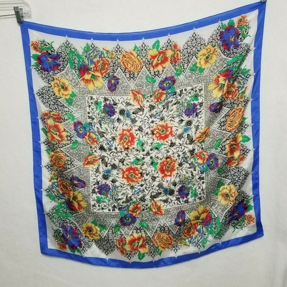 The Specialty House Japan Scarf 100% Silk Vintage