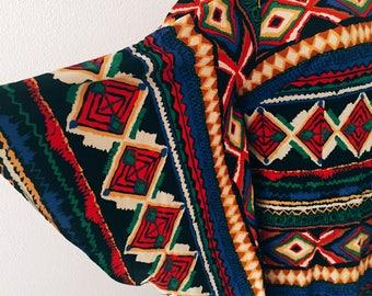 Maxi vestido boho hippi etno festival 70s