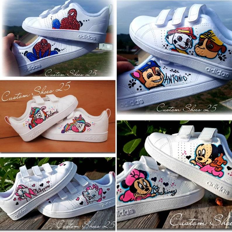 bd17e4ef0e191 Scarpe da ginnastica Adidas personalizzato bambino
