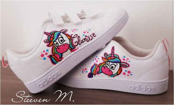 Sneakers Adidas children all customized