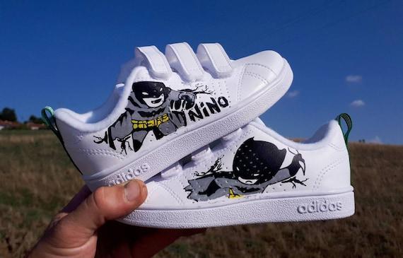 Scarpe da ginnastica Adidas personalizzato tema bambino | Etsy