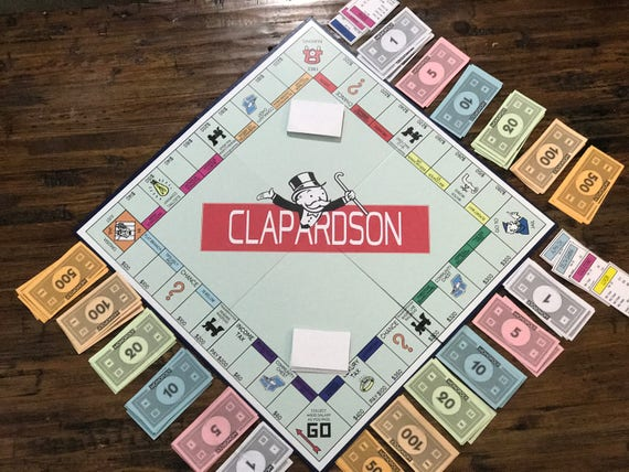 Custom Personalized Monopoly Board Game Ships Within 3 Days | Etsy