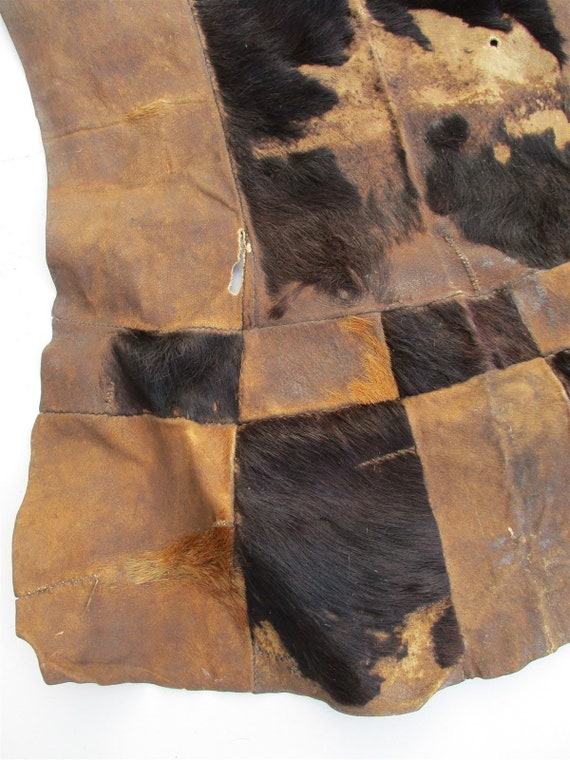 Turkana Animal Hide Apron Skirt Ekude Arach Tribal Clothing Kenya East Africa