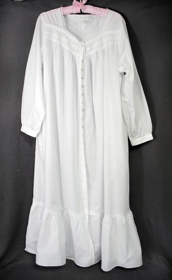 100% cotton robe, Eileen West lightweight cotton r