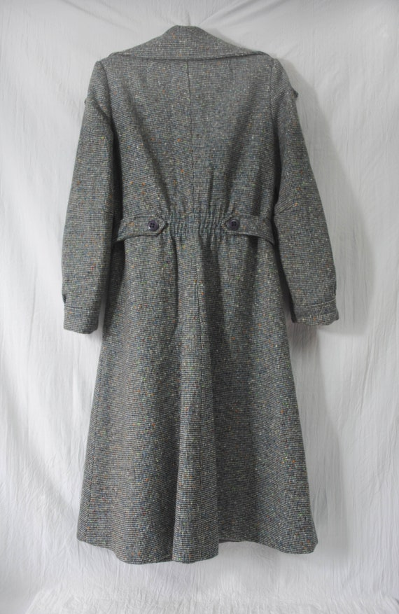 Neusteter's wool and nylon belted coat, vintage w… - image 3