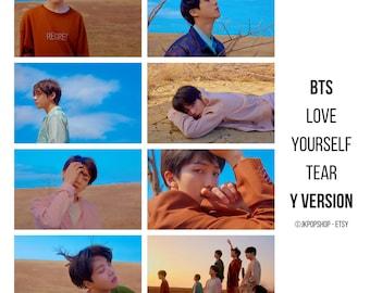 BTS Love Yourself 'Tear' Concept Photocards