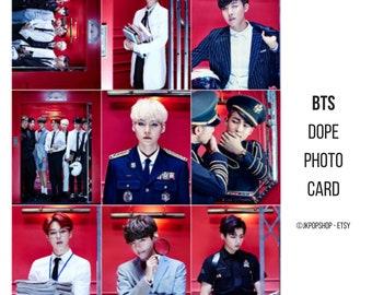 BTS Dope Photocards