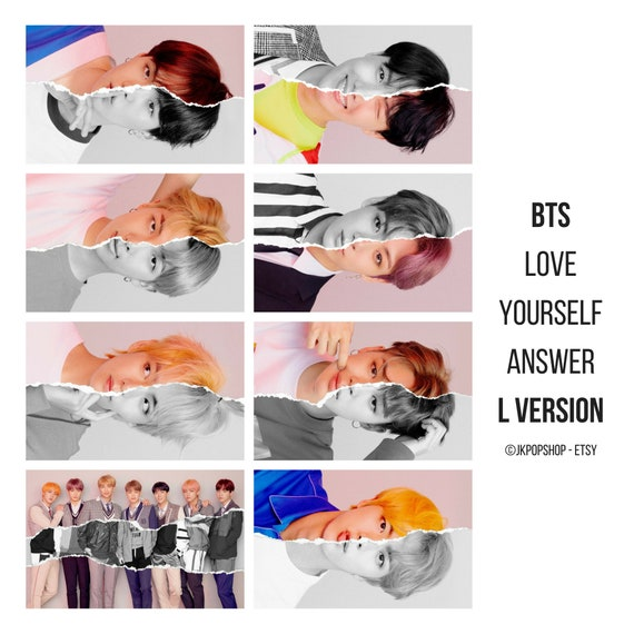 Bts Love Yourself Answer Concept Photocards