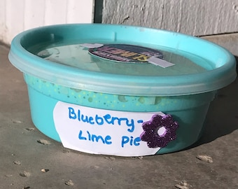 Blueberry- lime pie