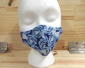 Handmade Reversible Cotton Dust Mask 026235