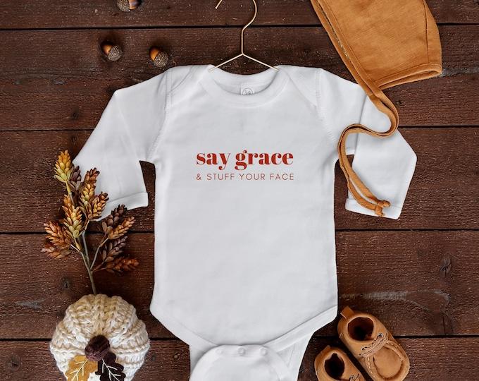 Say Grace Toddler Tee/Bodysuit